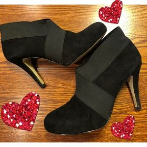 Jessica Simpson Black Heeled Bootie Shoes 👠